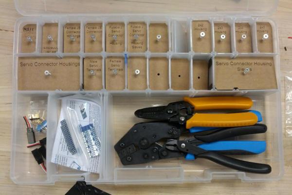Organized connector box