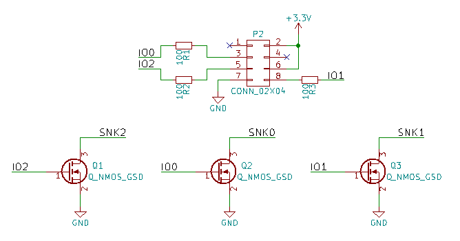 Schematic for ESP board